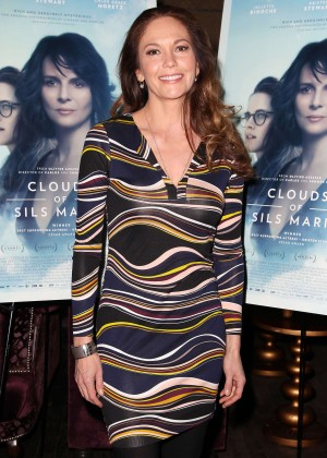"""Diane Lane - """"Clouds of Sils Maria"""" Theater Communtiy Screening in NY"""