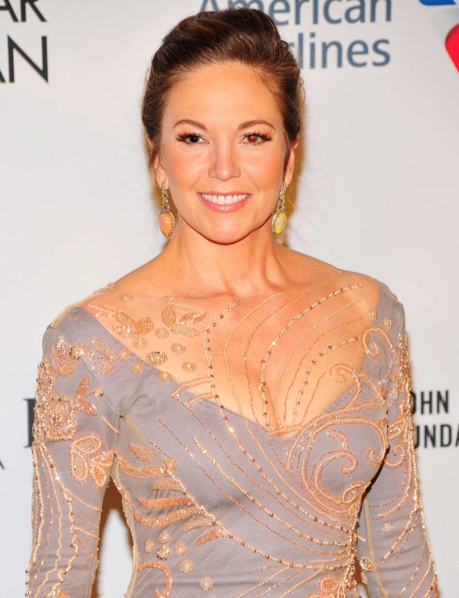 Diane Lane - Elton John AIDS Foundation at 2017 NY Fall Gala in NYC