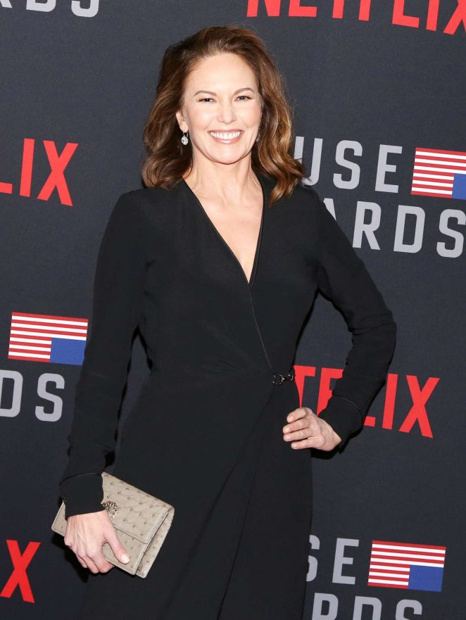 Diane Lane – 'House of Cards' Premiere in Los Angeles
