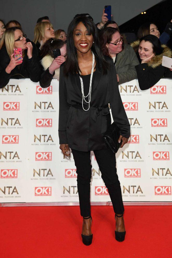 Diane Parish - 2017 National Television Awards in London
