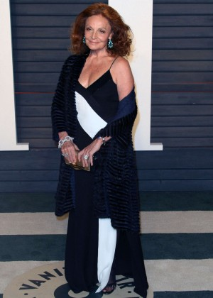 Diane von Furstenberg - 2016 Vanity Fair Oscar Party in Beverly Hills