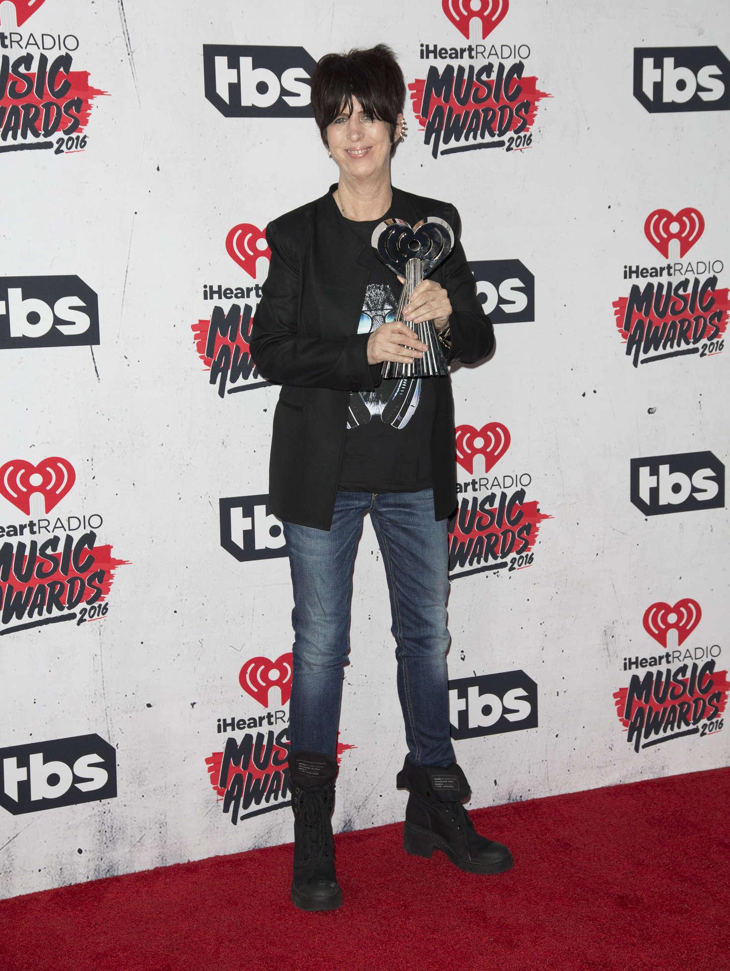 Diane Warren - iHeartRadio Music Awards 2016 in Los Angeles