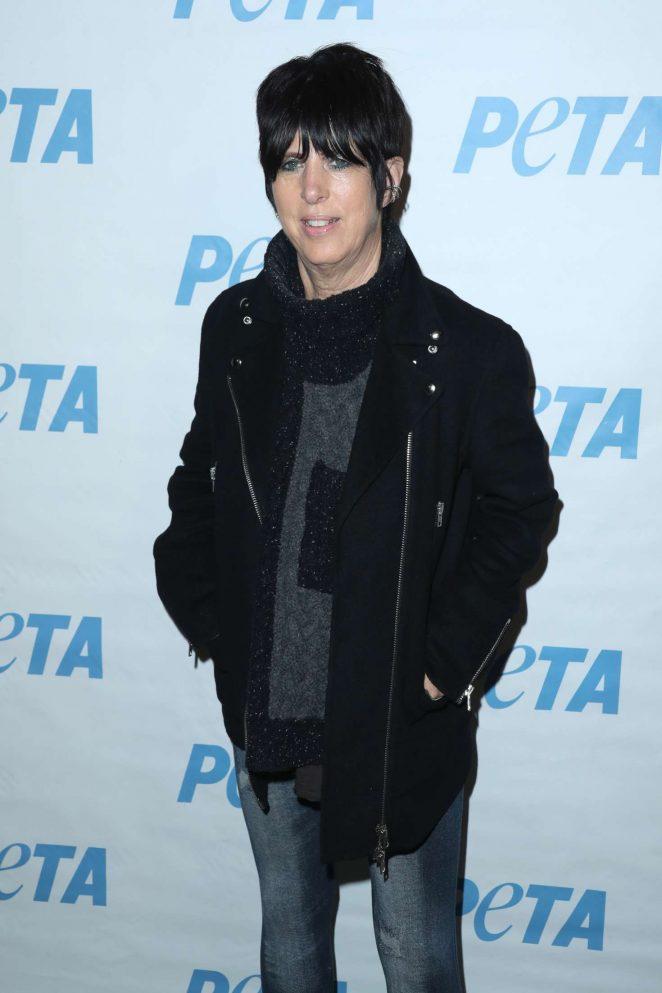 Diane Warren - Launch Opening Night of PETA's 'Naked Ambition' Exhibit in LA