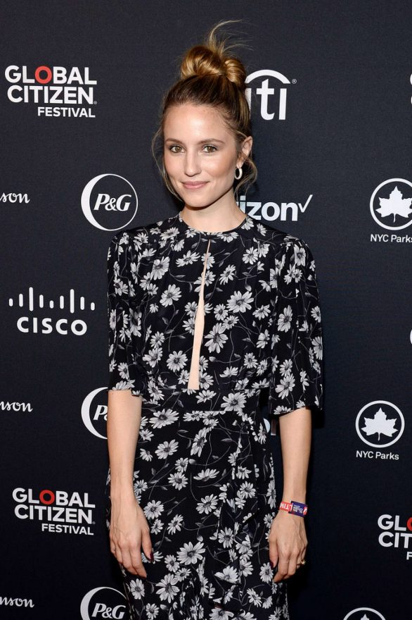 Dianna Agron - 2019 Global Citizen Festival: Power The Movement in NYC