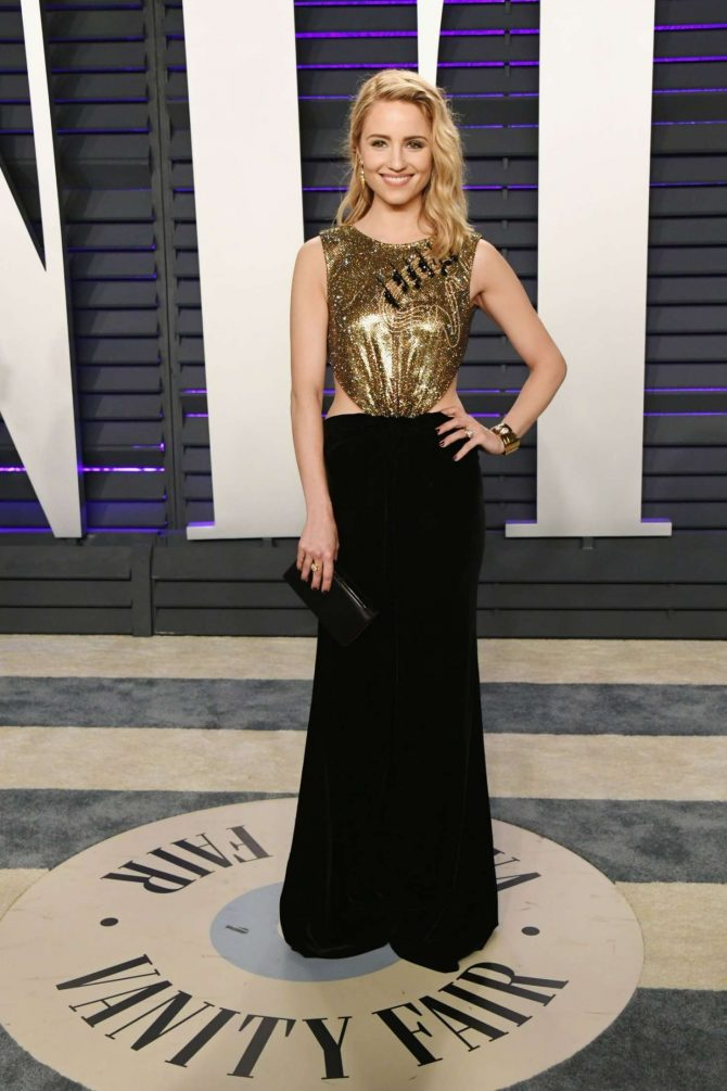 Dianna Agron - 2019 Vanity Fair Oscar Party in Beverly Hills