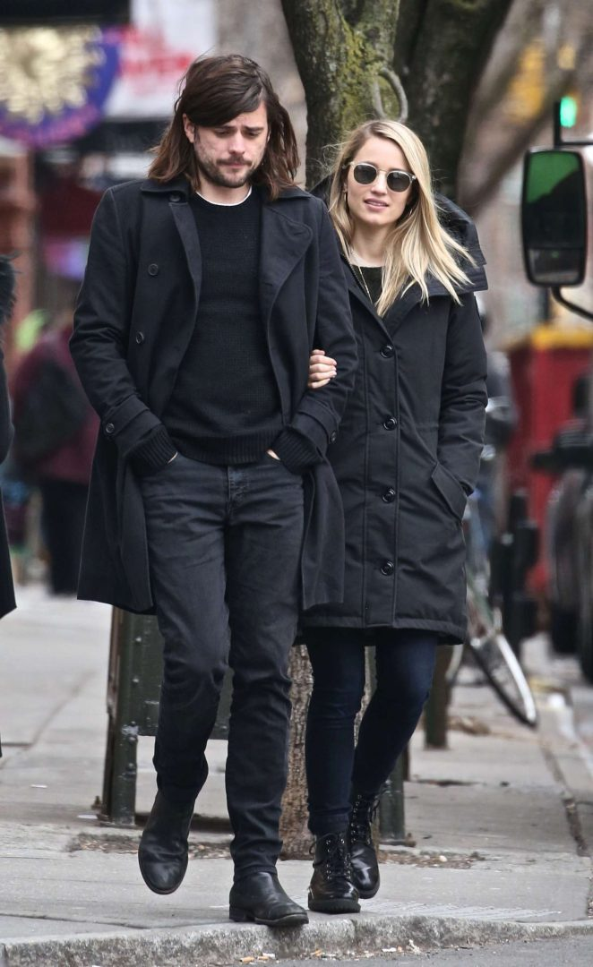 Dianna Agron and Winston Marshall out in New York