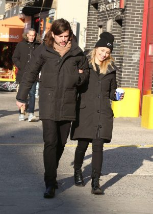 Dianna Agron and Winston Marshall - Out in Soho