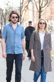Dianna Agron and Winston Marshall - Take a stroll in NYC