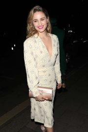Dianna Agron - Arrives at British Vogue's Fashion & Film Party 2020 in London