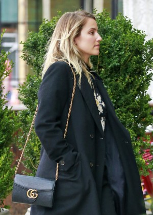 Dianna Agron - Arriving at Bowery Hotel in New York City