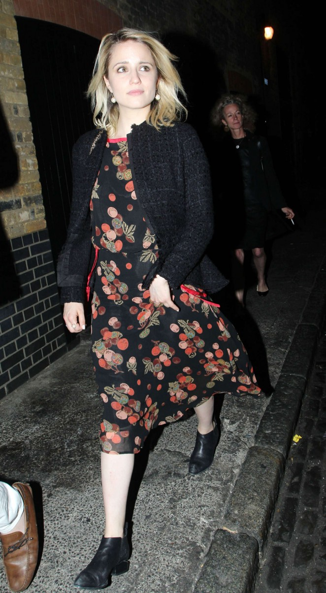 Dianna Agron at Chiltern Firehouse in London