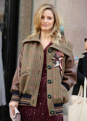 Dianna Agron at Miu Miu Show 2017 in Paris