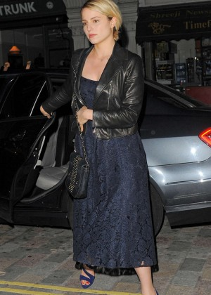 Dianna Agron - Chiltern Firehouse in London