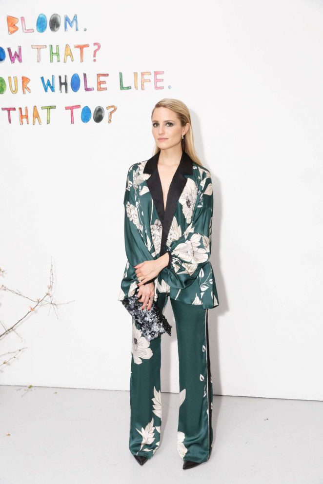 Dianna Agron - Cleo Wade Heart Talk Launch in NYC