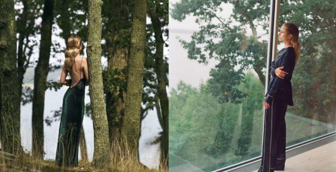 Dianna Agron: La Ligne Photoshoot 2017 -10