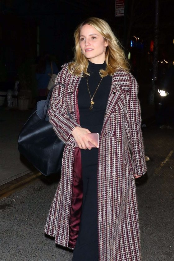 Dianna Agron: Leaves The Bowery Hotel -01