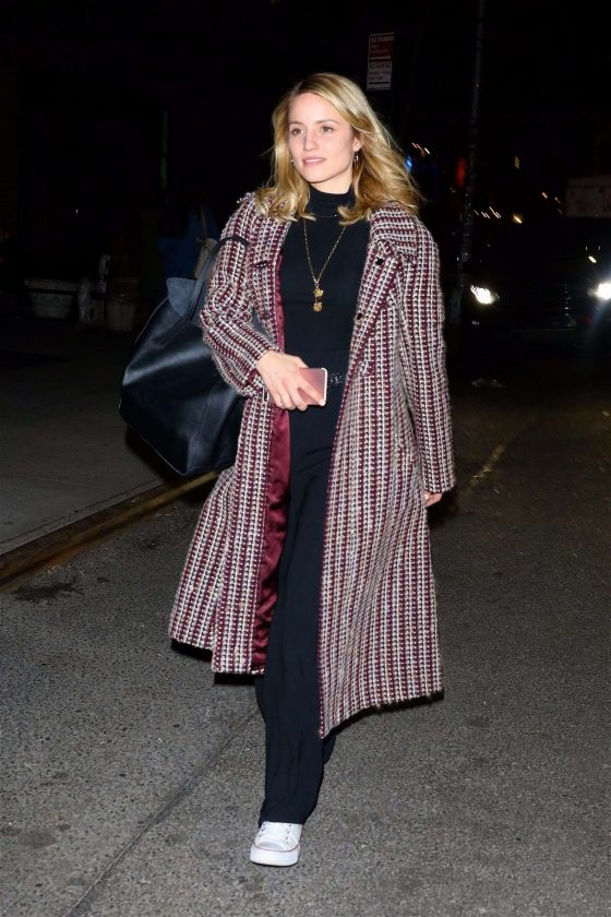 Dianna Agron: Leaves The Bowery Hotel -05