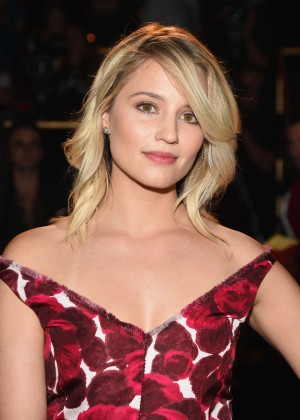Dianna Agron - Marc Jacobs Fashion Show Spring 2016 NYFW in NYC