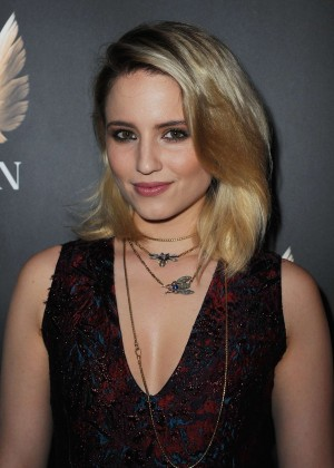 Dianna Agron - 'McQueen' Press Night Performance in London