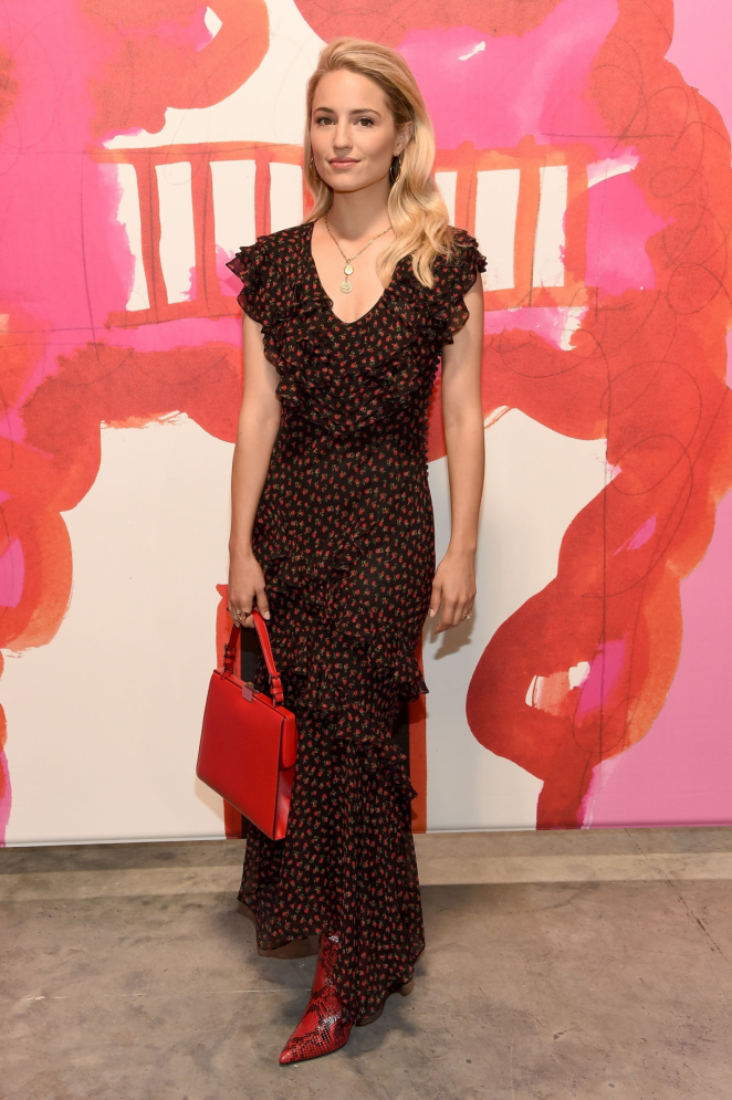 Dianna Agron – Michael Kors 2019 Fashion Show in NY