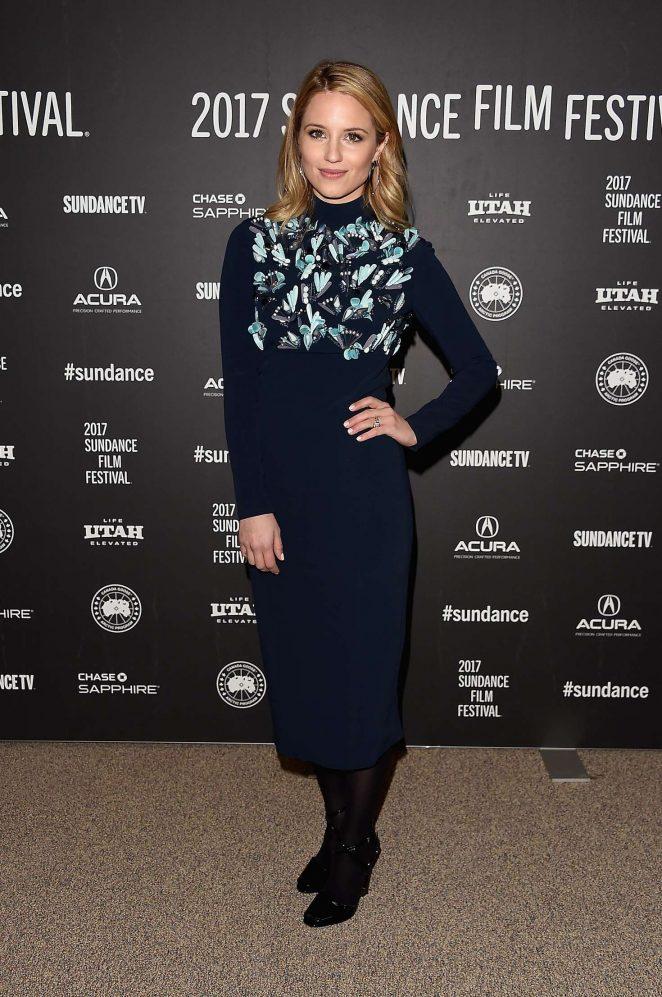 Dianna Agron - 'Novitate' Premiere at 2017 Sundance Film Festival in Utah