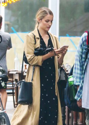 Dianna Agron out and about in NYC