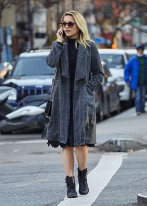 Dianna Agron out in Manhattan