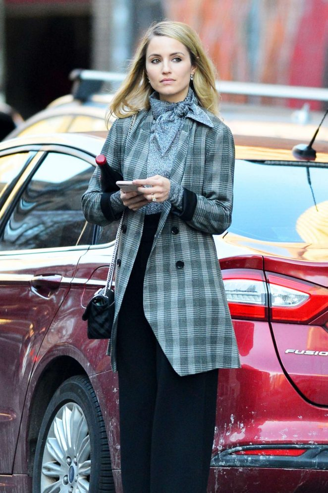 Dianna Agron - Out in New York City