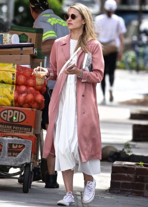 Dianna Agron - Out in NYC