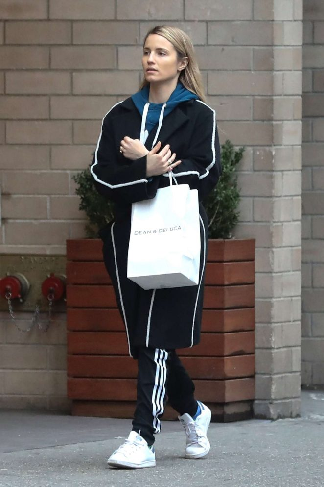 Dianna Agron out shopping in New York