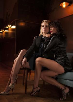 Dianna Agron & Paz De la Huerta - Vanity Fair Portraits 2015