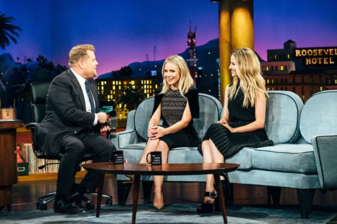 Dianna Agron - 'The Late Late Show with James Corden' in Los Angeles