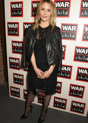 Dianna Agron - The War Child Winter Wassail in London