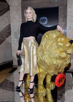 Dianna Agron - Universal Music Brits Party in London