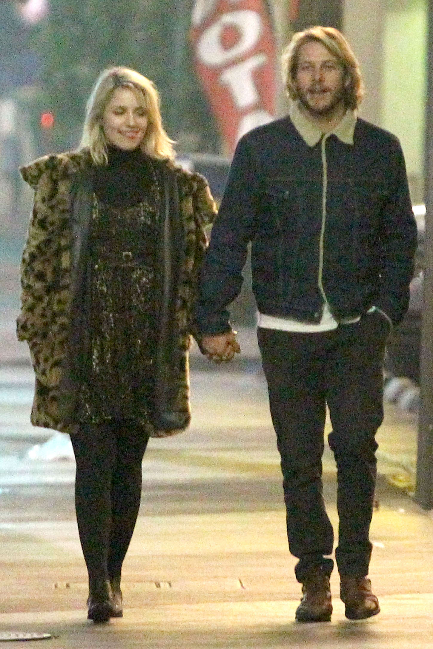 Dianna Agron With her Boyfriend -01 – GotCeleb