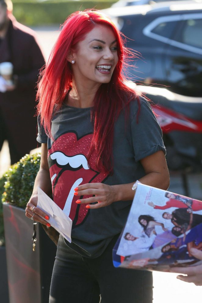 Dianne Buswell – Arrives at Live Show of Strictly Come Dancing in London