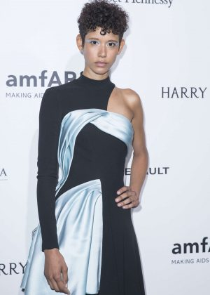 Dilone - Amfar Paris Dinner 2016 in Paris