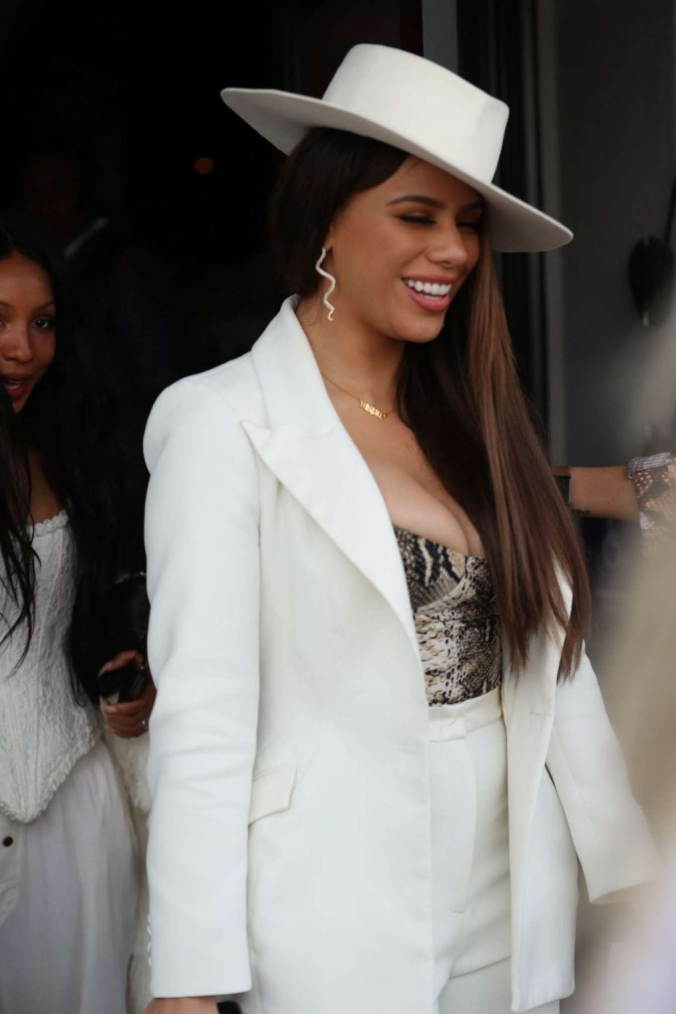 Dinah Jane - Arrives at the Women In Harmony Pre Grammy