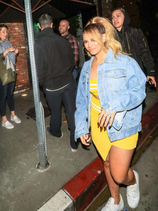 Dinah Jane - Arriving at Avenue Nightclub in Los Angeles