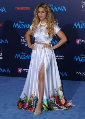 Dinah Jane Hansen - 'Moana' Premiere in Los Angeles
