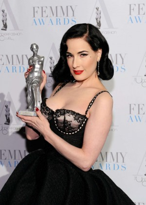Dita Von Teese - 2016 FEMMY Awards in New York City