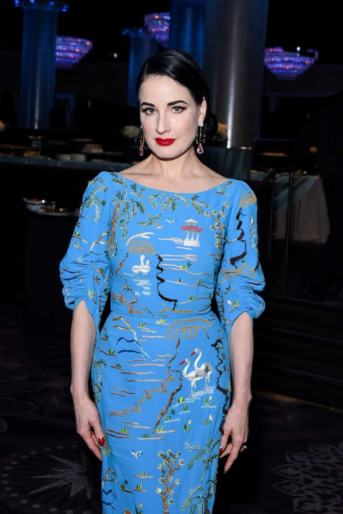 Dita Von Teese - American Ballet Theatre's Annual Holiday Benefit in Beverly Hills