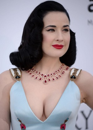 Dita Von Teese – amfAR's 22nd Cinema Against AIDS Gala in Cap d ...