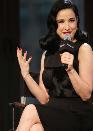 Back to post Dita Von Teese – AOL BUILD Presents 'Your Beauty Mark ...  Dita