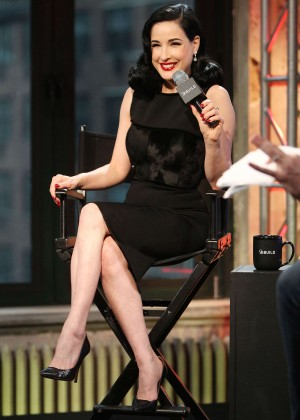 Dita Von Teese - AOL BUILD Presents 'Your Beauty Mark: The Ultimate ...