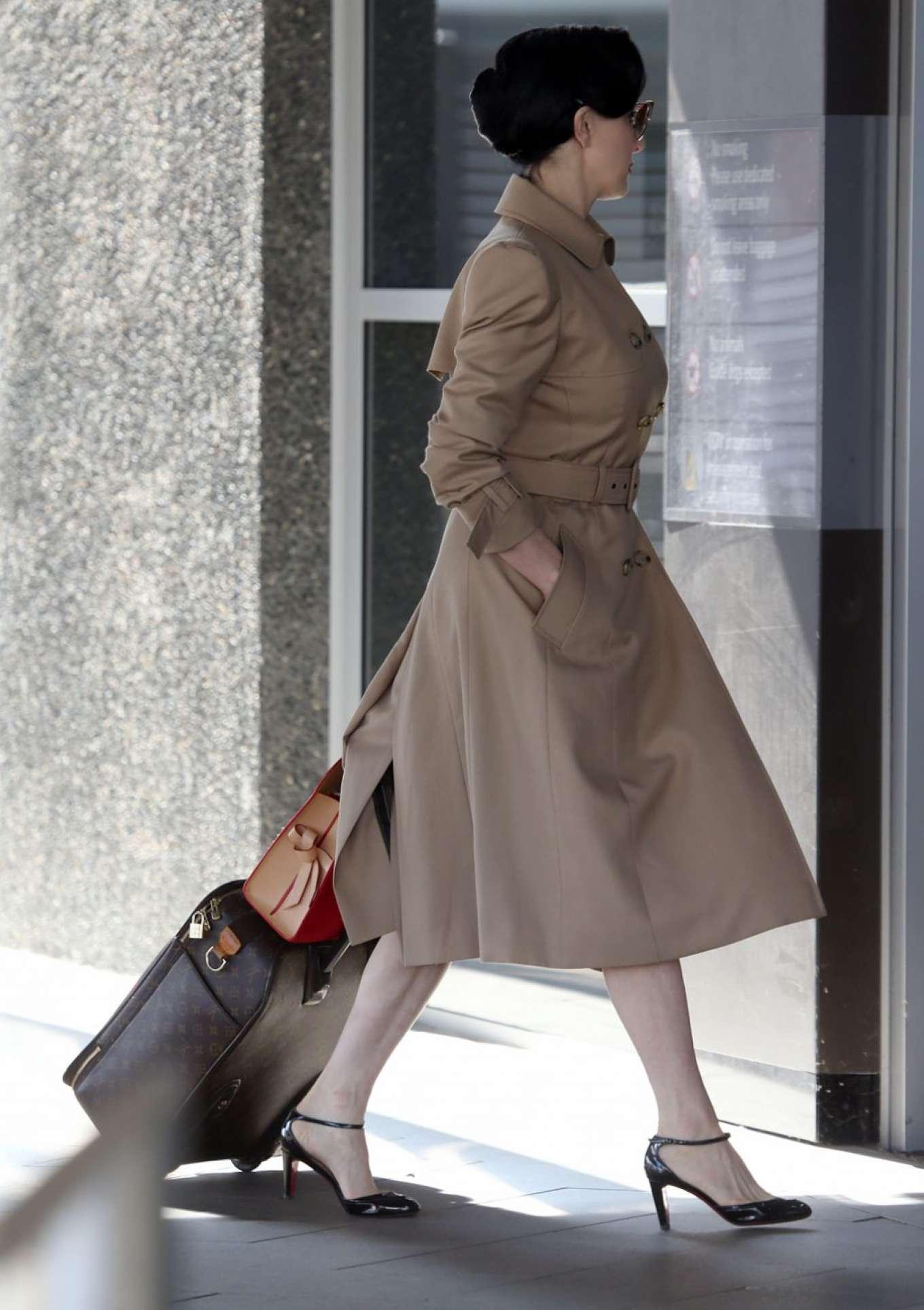 bdb3ebe6a7cb Dita Von Teese  Arrives at Perth Airport -09 – GotCeleb
