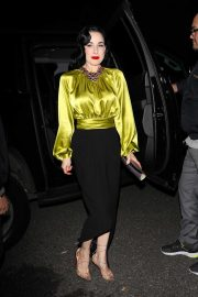 Dita Von Teese celebrate Paris Hilton's 39th birthday party in Los Angeles