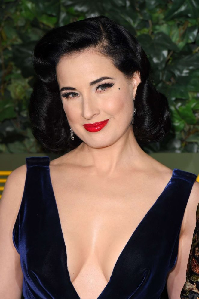 Dita Von Teese - Evening Standard Theatre Awards 2016 in London
