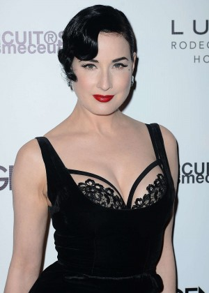 Dita Von Teese - Genlux Cover Issue Party in Beverly Hills