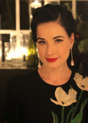 Dita Von Teese - Jo Malone London Girl Celebration in Los ...  Dita